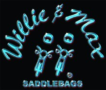 WILLIE & MAX SADDLEBAGS