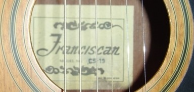 FRANCISCAN GUITAR