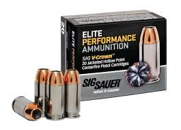 ELITE PERFOMANCE AMMUNITION