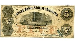 STATE BANK OF SOUTH CAROLINA