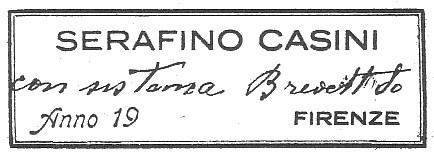 SERAFINO CASINI