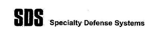 SPECIALTY DEFENSE SYSTEMS