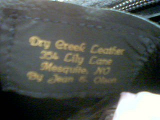 DRY CREEK LEATHER