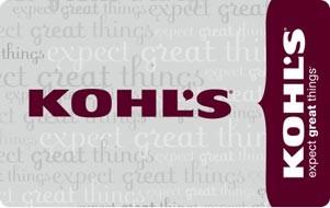 KHOLS GIFT CARD