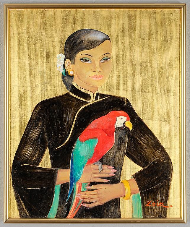 ZOIA KRUKOVSKA LAGERKRANS (1903-1999)