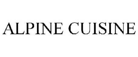 ALPINE CUISINE