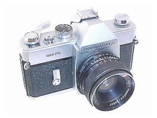 MAMIYA Film Camera 1000 DTL