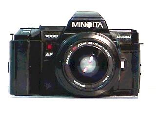 MINOLTA Film Camera MAXXUM 7000