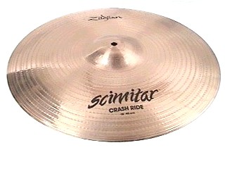 "ZILDJIAN Cymbal 18"" CRASH RIDE"