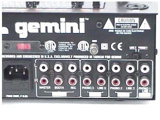 GEMINI Mixer PS-626