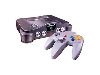 NINTENDO Video Game System 64 SYSTEM - CONSOLE