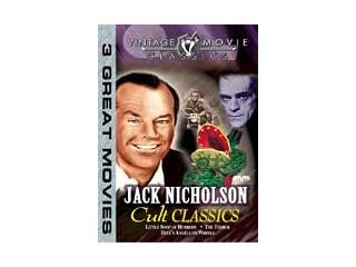 DVD MOVIE DVD JACK NICHOLSON-CULT CLASSICS