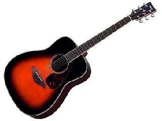 YAMAHA FG-730S Acoustic Guitar Natural Solid Top w/Roadrunner Soft Case