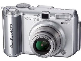 CANON Digital Camera POWERSHOT A630