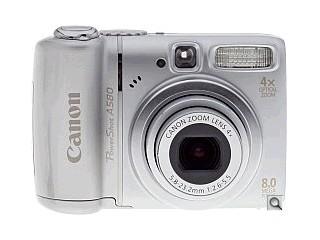 CANON Digital Camera POWERSHOT A580