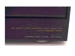 SONY CD Player & Recorder CDP-C312M