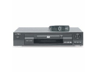 APEX DVD Player AD-500W DVD/CD/MP3 PLAYER