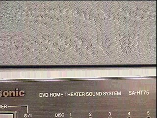 PANASONIC DVD Player SA-HT75 DVD HOME THEATRE