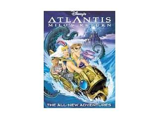 DVD MOVIE ATLANTIS MILOS RETURN