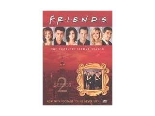 DVD MOVIE DVD FRIENDS THE COMPLETE SECOND SEASON