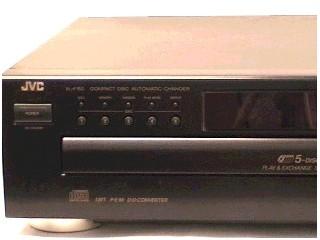 JVC CD Player  XL-F152BK