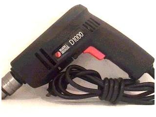 BLACK & DECKER Cordless Drill D1000