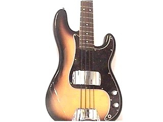 FENDER Bass Guitar PRECISION BASS-MEXICO