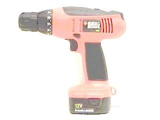 BLACK & DECKER Cordless Drill CD1200