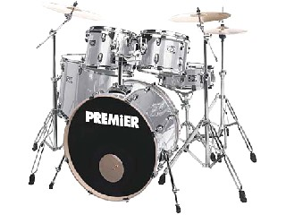 PREMIER PERCUSSION Drum Set CABRIA 5 SET