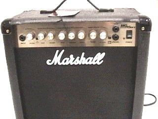 MARSHALL Electric Guitar Amp MG15DFX