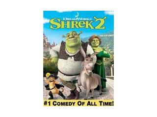 DVD MOVIE DVD SHREK 2 (2004)
