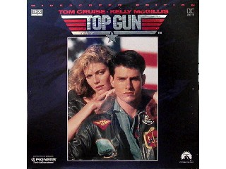 LASER DISC Laser Disk TOP GUN