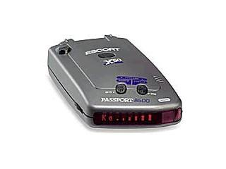 ESCORT Radar & Laser Detector 8500 X50 RED DISPLAY