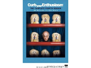 DVD MOVIE DVD CURB YOUR ENTHUSIASM THE COMPLETE FOURTH SEASON