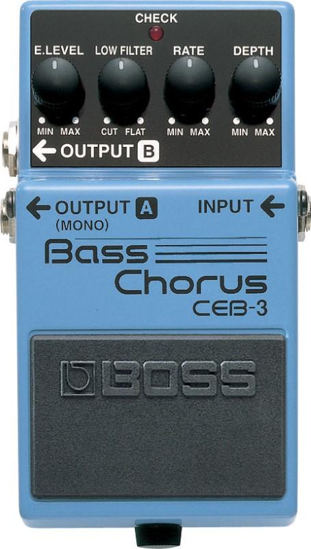 BOSS Effect Equipment CEB-3 BASS CHORUS