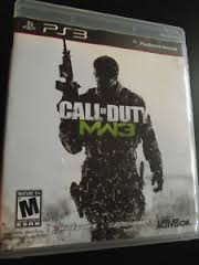 SONY Sony PlayStation 3 Game CALL OF DUTY MODERN WARFARE 3 PS3