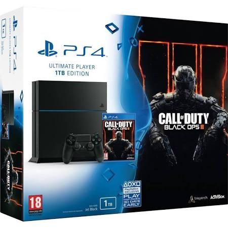 SONY PlayStation 4 PLAYSTATION 4 - SYSTEM - CUH-1215B - CALL DUTY III