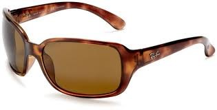 RAY-BAN SUNGLASSES POLARIZED CLASSIC B-15 RB4068 w/Case