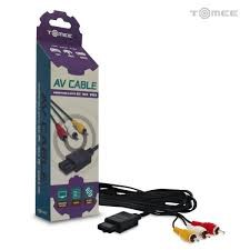 TOMEE Video Game Accessory M03901 AV CABLE FOR GC/N64/SNES