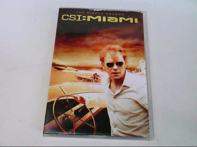 CBS DVD CSI: MIAMI THE EIGHTH SEASON