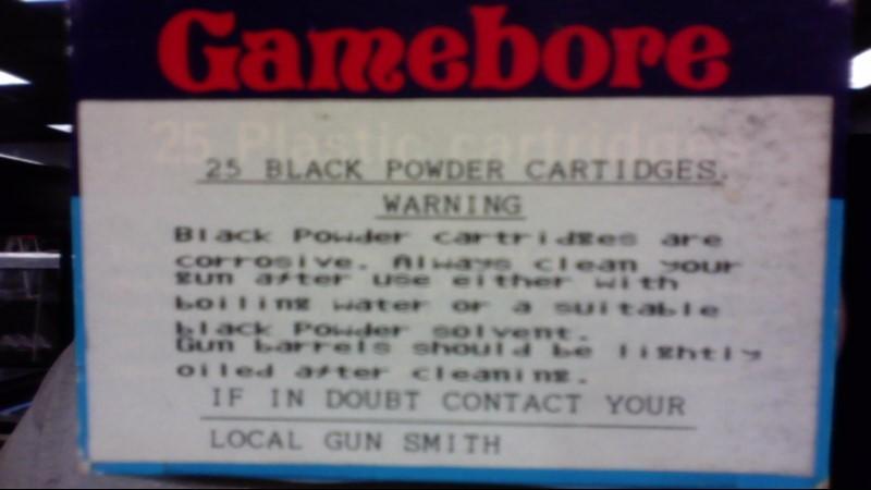 GAMEBORE Ammunition 20G 7.5