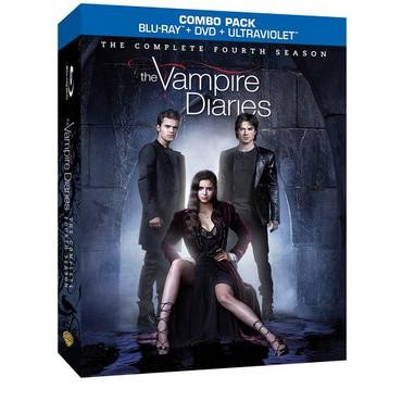 BLU-RAY MOVIE Blu-Ray THE VAMPIRE DIARIES SEASON FOUR