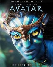 BLU-RAY MOVIE Blu-Ray AVATAR LIMITED 3-D EDITION