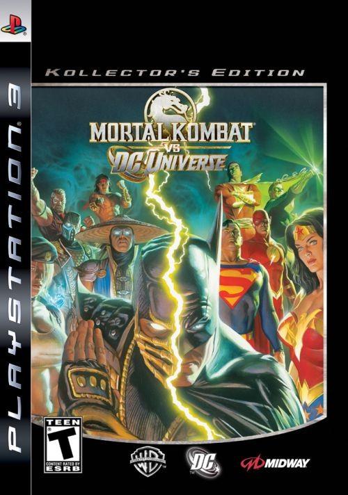 MIDWAY Sony PlayStation 3 Game MORTAL KOMBAT VS DC UNIVERSE