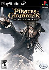 SONY Sony PlayStation 2 PLAYSTATION 2 PIRATES OF THE CARIBBEAN AT WORLDS E
