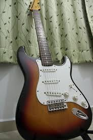 FENDER Electric Guitar 1962 REISSUE STRAT JAPAN