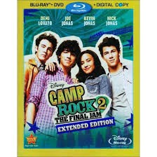 BLU-RAY MOVIE Blu-Ray CAMP ROCK 2