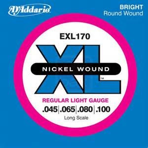 DADDARIO Musical Instruments Part/Accessory EXL170