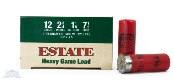 ESTATE CARTRIDGE INC Ammunition HG12 7.5