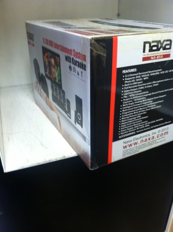 NAXA Surround Sound Speakers & System ND-859